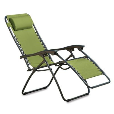 Multi-Position Relaxer Zero Gravity Chair in Lime