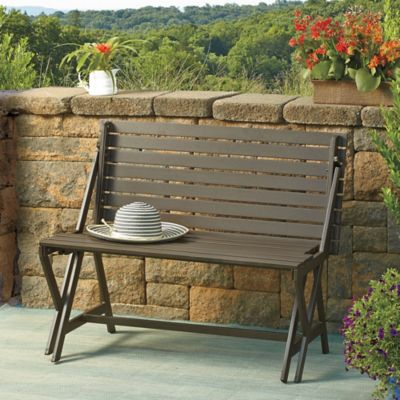 Bench Table Patio Furniture