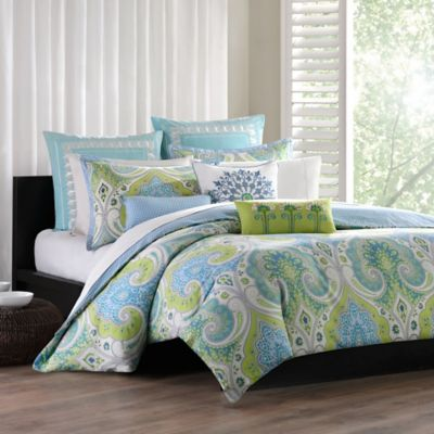 Echo Design™ Sardinia Reversible Twin Duvet Cover Set