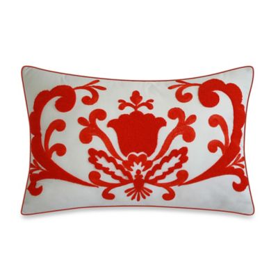 Dena™ Home Dakota Reversible Oblong Throw Pillow in Coral
