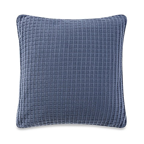Navy Throw Pillows For Bed : Real Simple Parker Square Throw Pillow in Navy - Bed Bath & Beyond