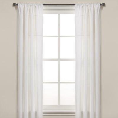 Real Simple® Parker 84-Inch Window Panel Pair in White