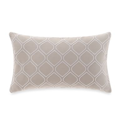 Real Simple® Boden Embroidered Oblong Throw Pillow in Pale Blue