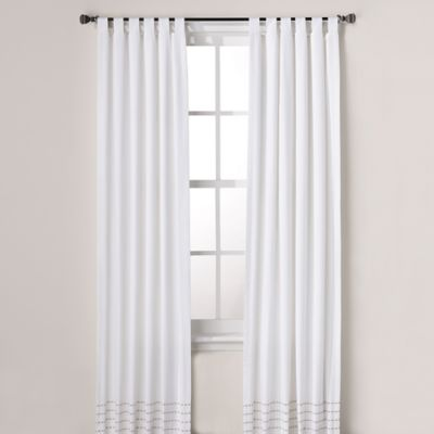 Real Simple® Boden 84-Inch Window Panel Pair in White