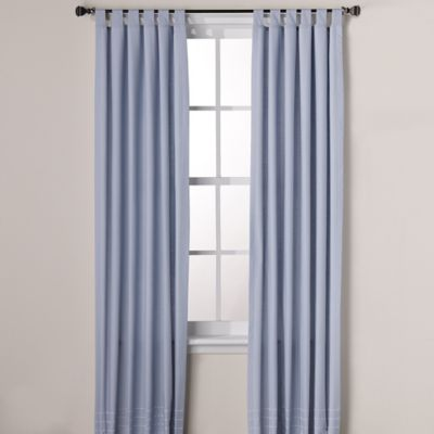 Real Simple® Boden 84-Inch Window Panel Pair in Pale Blue