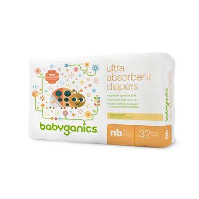 Babyganics® 36-Count Newborn Jumbo Ultra Absorbent Diapers