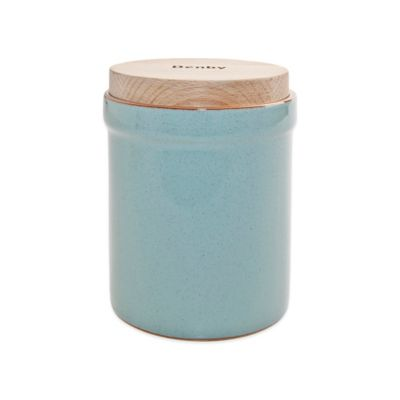 Denby Pavilion Storage Jar in Blue