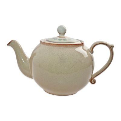Denby Heritage Veranda Teapot in Yellow