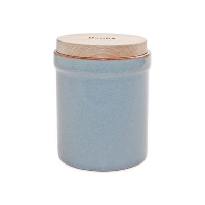 Grey Storage Jar