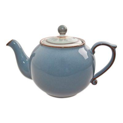 Denby Heritage Terrace Teapot in Grey