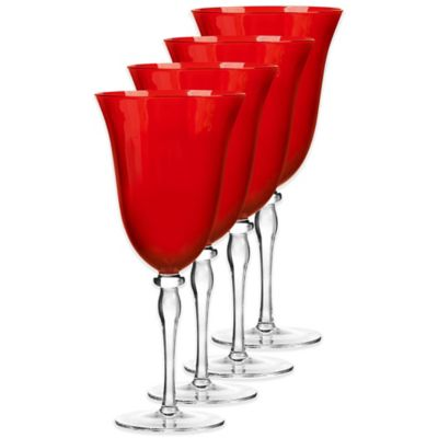 Qualia Rouge Red Wine Glasses (Set of 4)