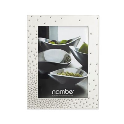 Nambe 5-Inch x 7-Inch Dazzle Frame