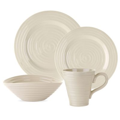 Sophie Conran for Portmeirion 4-Piece Place Setting in Pebble