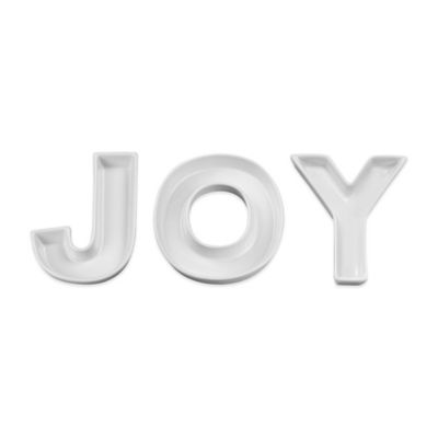 Ivy Lane Design JOY Ceramic Candy Dish Set
