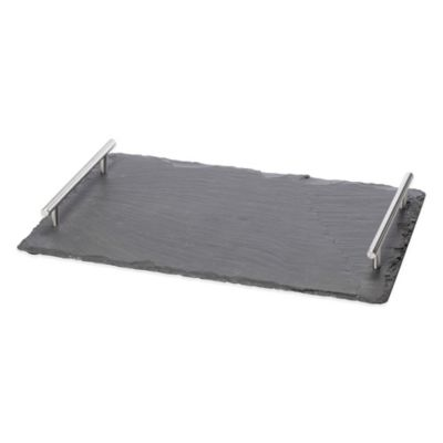 Oenophilia Large Slate Cheese Board with Handles