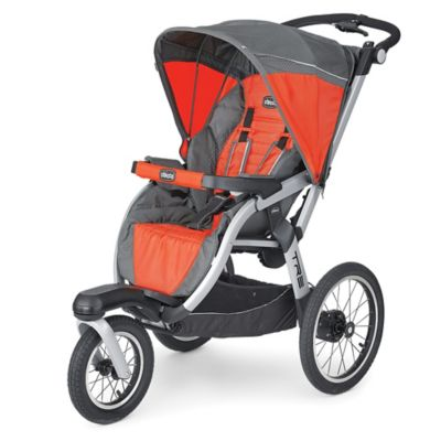 Jogging Strollers > Chicco® Tre™ Jogging Stroller in Orange