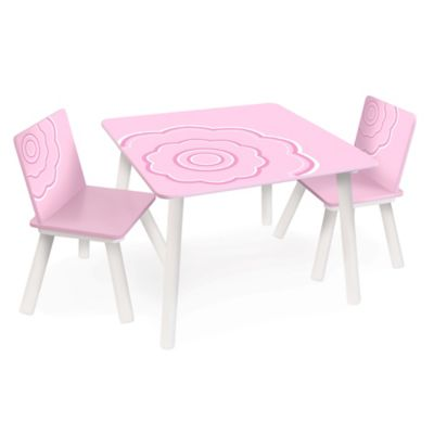 P'kolino® Classically Cool Table and Chairs in Blossom