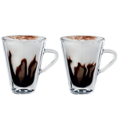 Luigi Bormioli Thermic Double-Wall Espresso Mugs (Set of 2)