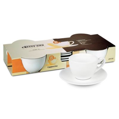 Coffee Bar by Konitz No. 8 Coffee Cups in White (Set of 4)