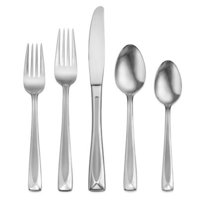 Oneida® Satin Lincoln 45-Piece Flatware Set