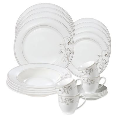 24-Piece Porcelain Dinnerware