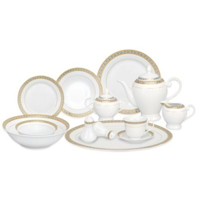 Lorren Home Trends Safora 57-Piece Dinnerware Set