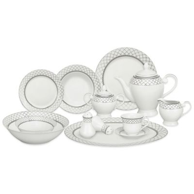 Lorren Home Trends Verona 57-Piece Dinnerware Set