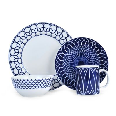 Mikasa® Lavina 4-Piece Place Setting in White