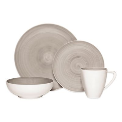 Mikasa® Savona 4-Piece Place Setting in Grey