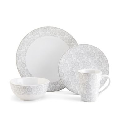 Floral White Dinnerware Sets