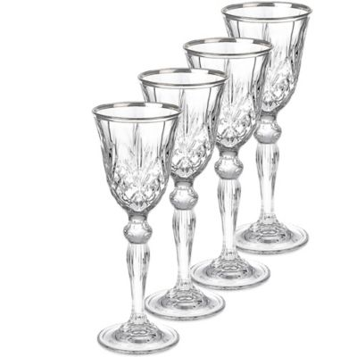 Lorren Home Trends Reagan Cordial Glasses (Set of 4)