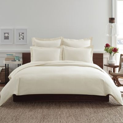 Real Simple® Clip N Zip Twin Duvet Cover in Ivory