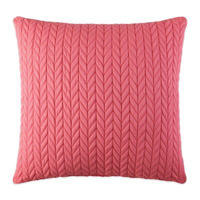 J by J. Queen New York Camden Square Throw Pillow in Melon