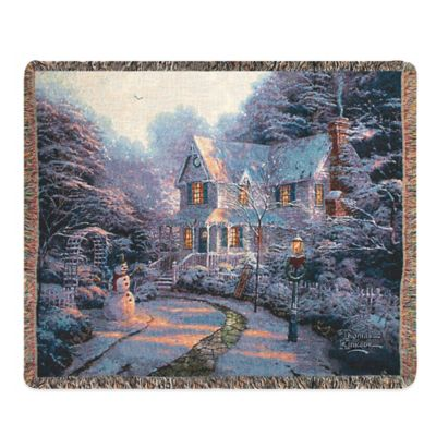 """The Night Before Christmas"" Decorative Tapestry Throw"