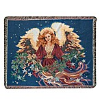 Christmas Blessing  Decorative Tapestry Throw