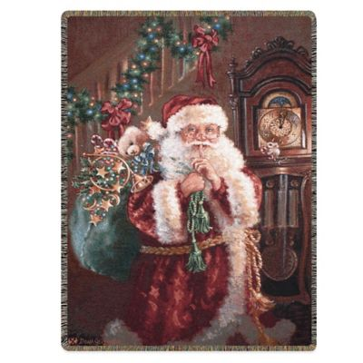 """Not a Creature Was Stirring"" Decorative Tapestry Throw"