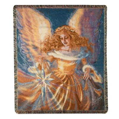 """Light of the World"" Decorative Tapestry Throw"