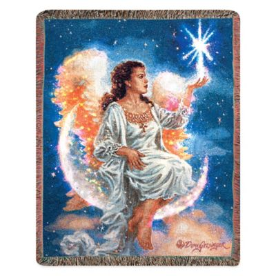 """Christmas Star"" Decorative Tapestry Throw"