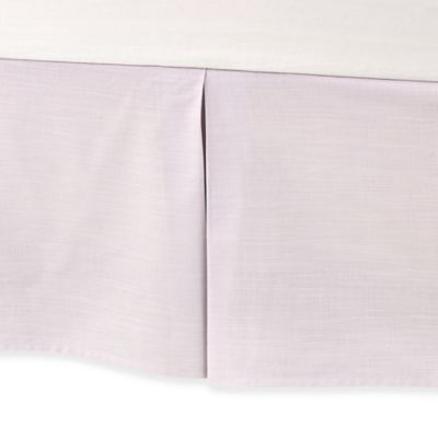 Real Simple® Boden Twin Bed Skirt in Orchid