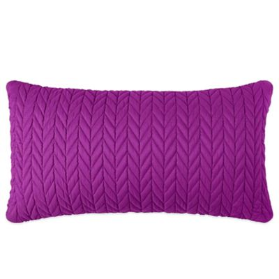 J by J. Queen New York Camden Boudoir Throw Pillow in Fuchsia