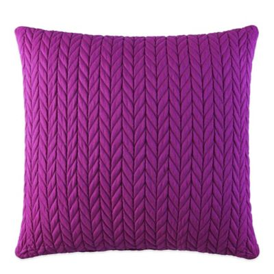 J by J. Queen New York Camden Square Throw Pillow in Fuchsia