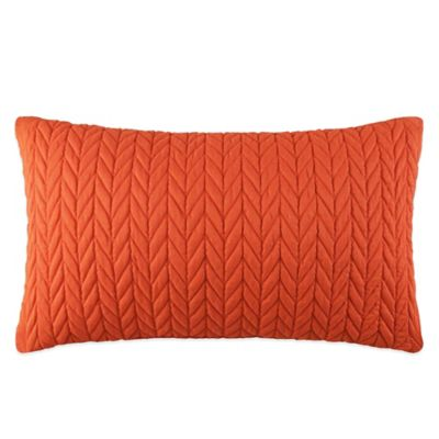 J by J. Queen New York Camden Boudoir Throw Pillow in Orange