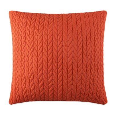 J by J. Queen New York Camden Square Throw Pillow in Orange