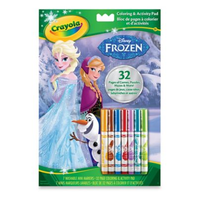"Crayola® Disney® ""Frozen"" Color & Activity Book"