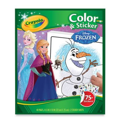 "Crayola® Disney® ""Frozen"" Color & Sticker Book"