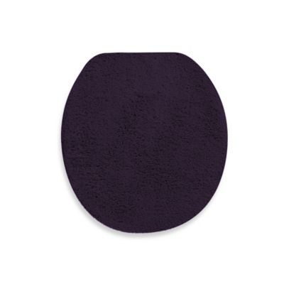 Wamsutta® Perfect Soft Universal Toilet Lid Cover in Deep Plum