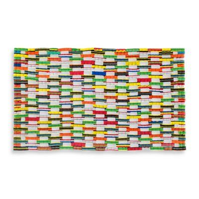 18-Inch x 30-Inch Recycled Flip-Flop Door Mat