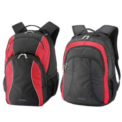 Sumdex® Campus Mobile Essential Laptop Backpack in Red