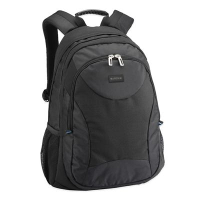 Black Multi Laptop Backpack