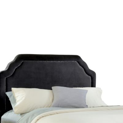 Hillsdale Carlyle King Headboard with Rails in Chocolate
